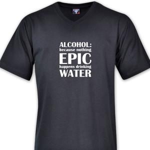 """ALCOHOL"" T-Shirt Range"
