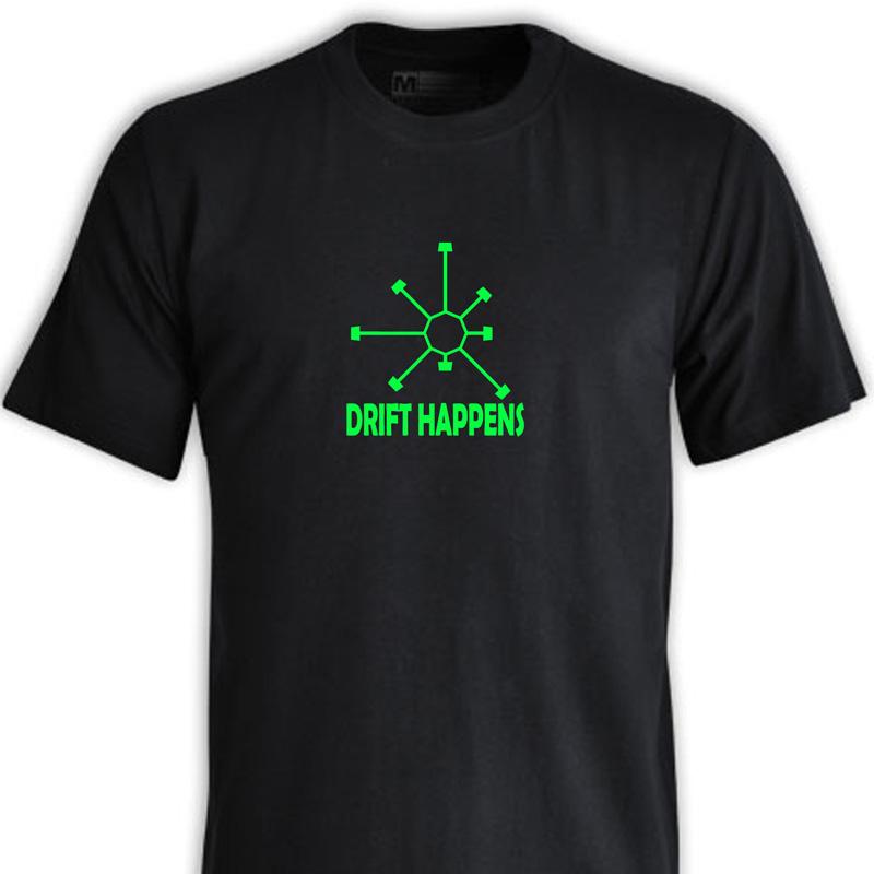 """DRIFTHAPPENS"" T-Shirt Range"
