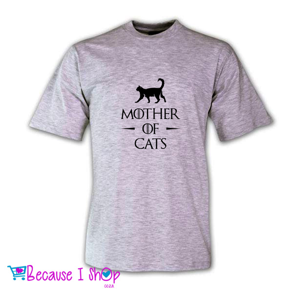 """MOTHER OF CATS"" T-Shirt Range"