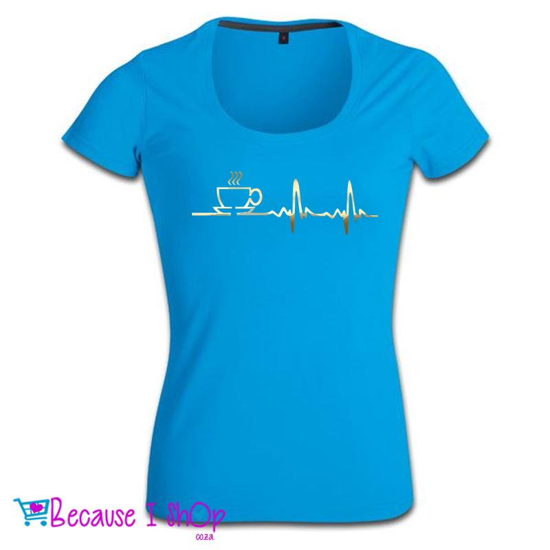 Java Starter Ladies Low Scoop Neck T Shirt Because I Shop