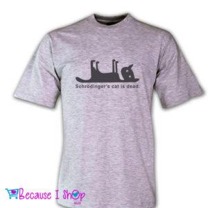 """Schrodingers Cat"" T-Shirt Range"