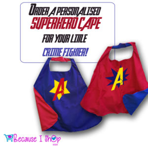 SuperHero Capes – CUSTOM