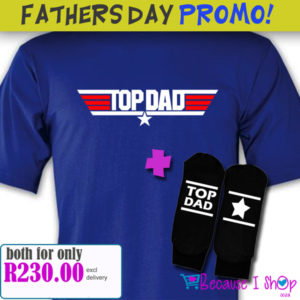 Father's Day Shirt & Socks PROMO