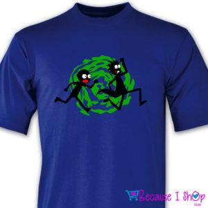 'RicknMorty Run' T-Shirt Range