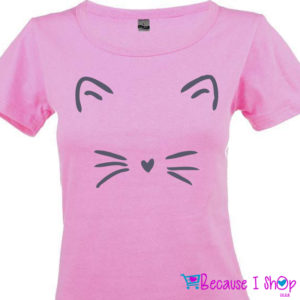 """Cat's Whiskers"" T-Shirt Range"