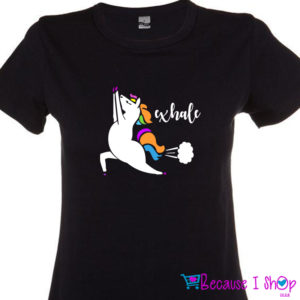 """Exhale"" T-Shirt Range"