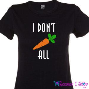 """""""Carrot All"""" T-Shirt Range"""