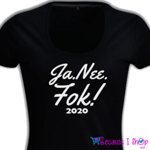 JaNeeFok – Ladies Low Scoop T Shirt