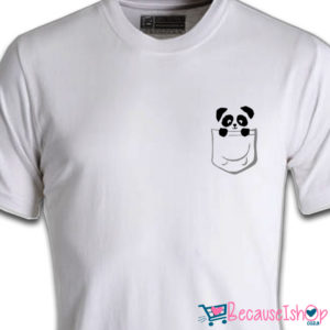 Pocket Panda – Unisex T-Shirt