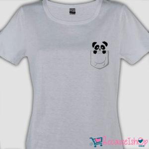 Pocket Panda – Ladies T Shirt