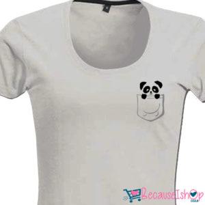 Pocket Panda – Ladies Low Scoop