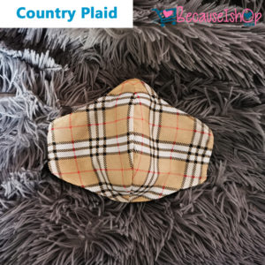 Country Plaid – Face Mask