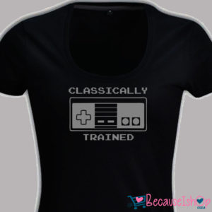 Classically Trained – Ladies Low Scoop